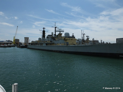 D95 HMS MANCHESTER for scrap Portsmouth PDM 30-06-2014 12-23-43