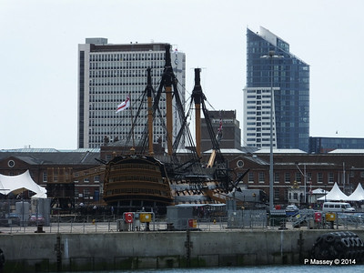 HMS VICTORY from Harbour Tour Portsmouth PDM 30-06-2014 12-15-27