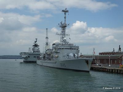 French Frigate LA MOTTE-PICQUET D645 Portsmouth PDM 31-05-2014 14-45-05