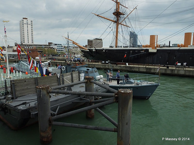 MEDUSA HDML 1387 HMS WARRIOR Portsmouth PDM 31-05-2014 14-42-28