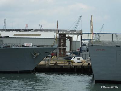 D37 HMS DUNCAN F234 HMS IRON DUKE Portsmouth PDM 31-05-2014 14-49-23