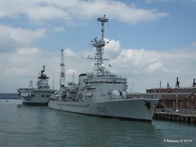 French Frigate LA MOTTE-PICQUET D645 Portsmouth PDM 31-05-2014 14-45-08