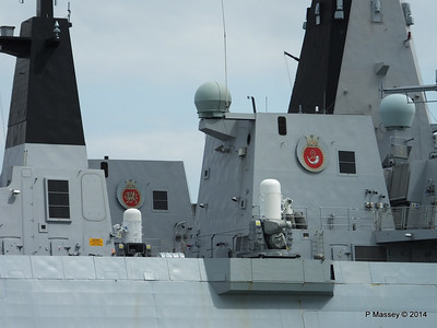 D35 HMS DRAGON D37 HMS DUNCAN Destroyers Portsmouth PDM 31-05-2014 14-49-12