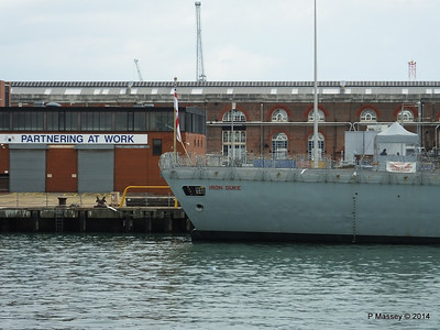 F234 HMS IRON DUKE Portsmouth PDM 31-05-2014 14-50-25