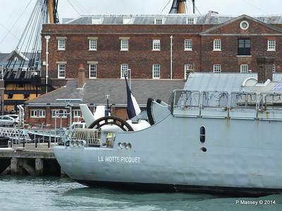 French Frigate LA MOTTE-PICQUET D645 Portsmouth PDM 31-05-2014 14-45-55