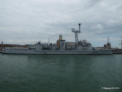 French Frigate LA MOTTE-PICQUET D645 Portsmouth PDM 31-05-2014 14-45-59