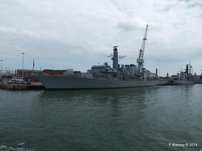F237 HMS WESTMINSTER F234 HMS IRON DUKE Portsmouth PDM 31-05-2014 14-52-19