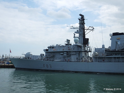 F83 HMS ST ALBANS Portsmouth PDM 31-05-2014 15-01-19