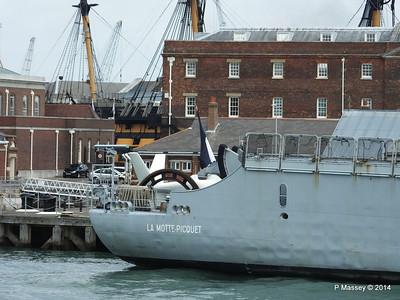 French Frigate LA MOTTE-PICQUET D645 Portsmouth PDM 31-05-2014 14-45-52