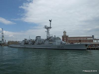 French Frigate LA MOTTE-PICQUET D645 Portsmouth PDM 31-05-2014 14-45-33