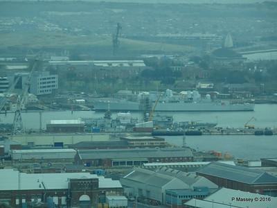 D32 HMS BRISTOL Training Whale Island Portsmouth 27-02-2016 10-32-09