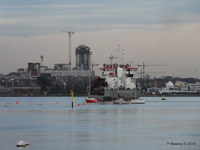 CITY OF CHICHESTER Departing Southampton PDM 07-03-2014 12-40-46