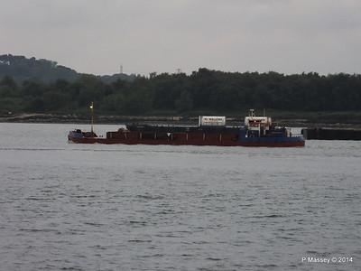 GOOLE STAR Departing Southampton PDM 29-05-2014 20-22-13