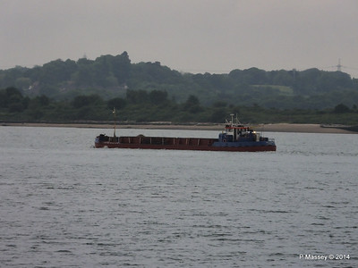 GOOLE STAR Departing Southampton PDM 29-05-2014 20-24-11