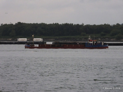 GOOLE STAR Departing Southampton PDM 29-05-2014 20-22-02