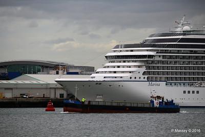 GOOLE STAR Passing MARINA Southampton PDM 04-08-2016 18-31-57