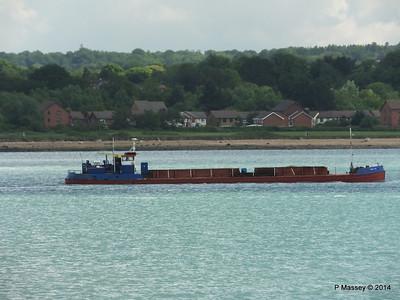 GOOLE STAR Departing Southampton PDM 05-06-2014 11-15-43