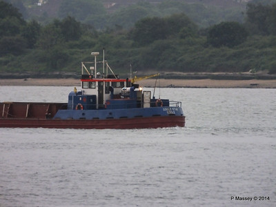 GOOLE STAR Departing Southampton PDM 29-05-2014 20-24-28