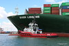 SD SHARK EVER LISSOME Departing Southampton PDM 26-04-2017 12-04-45