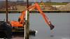 Swan SOLENT HOPPER Spudlegbarge Crane Barge Marchwood Yacht Club PDM 16-12-2017 15-11-56