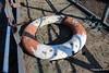 Abandoned Lifebelt Gangway Husbands Shipyard Marchwood PDM 18-02-2017 13-49-22