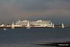 sys AIDAprima over Town Quay Southampton PDM 27-04-2016 19-05-03