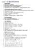 LADY K II Specifications 2012