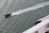 RIBs Passing QM2 Southampton Water PDM 13-07-2016 17-50-42