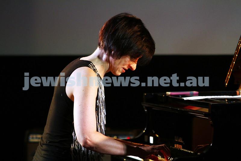 6-9-15. Shir Madness. Melbourne  Jewish Music Festival. Leonie Cohen. Photo: Peter Haskin