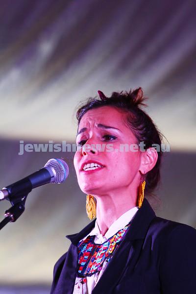 "6-9-15. Shir Madness. Melbourne  Jewish Music Festival.  Tal Ben Ari (""Tula"").  Photo: Peter Haskin"