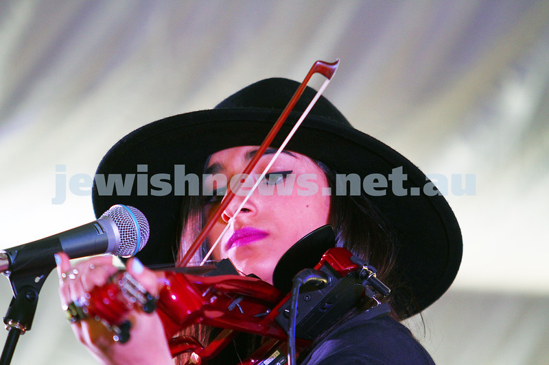 6-9-15. Shir Madness. Melbourne  Jewish Music Festival. Rita Satch. Photo: Peter Haskin