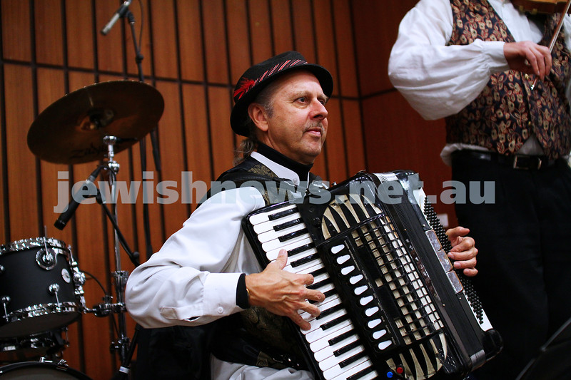 6-9-15. Shir Madness. Melbourne  Jewish Music Festival.  Klezmer Gypsy Dance. Photo: Peter Haskin