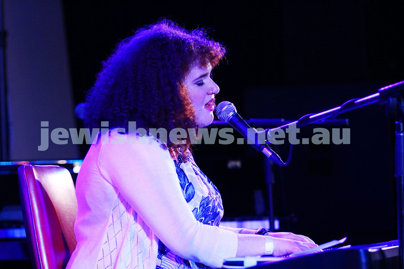 6-9-15. Shir Madness. Melbourne  Jewish Music Festival.  Emilia. Photo: Peter Haskin