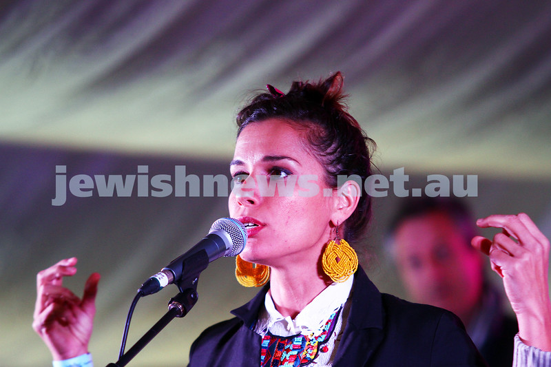 6-9-15. Shir Madness. Melbourne  Jewish Music Festival. Tal Ben Ari. Photo: Peter Haskin