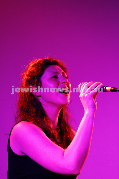 6-9-15. Shir Madness. Melbourne  Jewish Music Festival.  Alma Mater. Photo: Peter Haskin