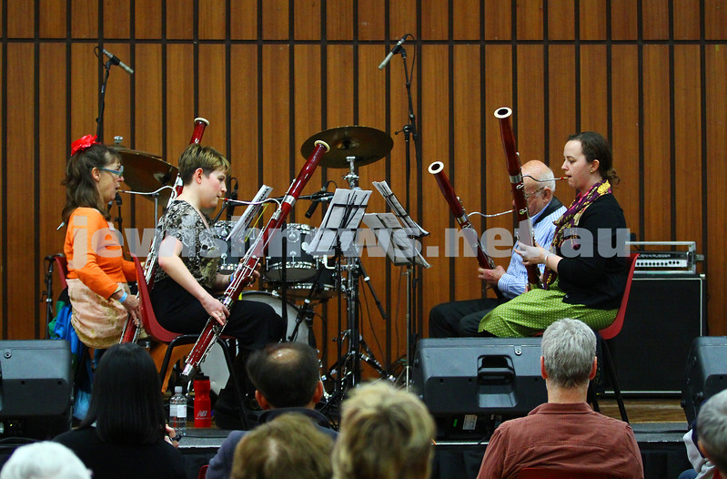 6-9-15. Shir Madness. Melbourne  Jewish Music Festival.  George Dreyfus. Photo: Peter Haskin
