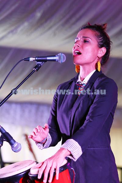 6-9-15. Shir Madness. Melbourne  Jewish Music Festival. Tal Ben Ari. Photo: Peter Haskin