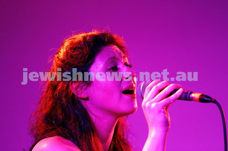 6-9-15. Shir Madness. Melbourne  Jewish Music Festival.  Alma Mater. Photo: Peter Haskin