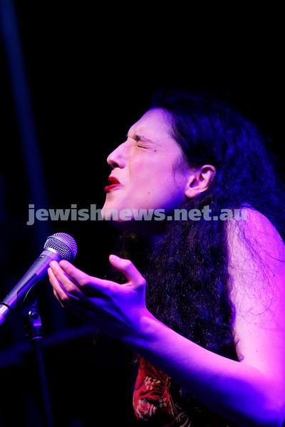 3-9-17. Shir Madness. Melbourne Jewish Music Festival.  Alma Zygier. Photo: Peter Haskin