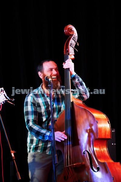 3-9-17. Shir Madness. Melbourne Jewish Music Festival.  Simon Starr. Photo: Peter Haskin