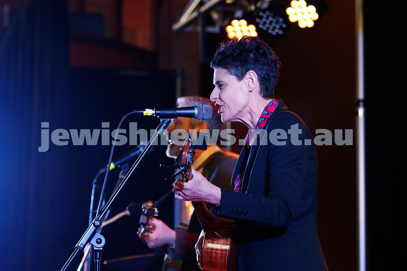3-9-17. Shir Madness. Melbourne Jewish Music Festival. Willy Zygier, Deborah Coneway. Photo: Peter Haskin