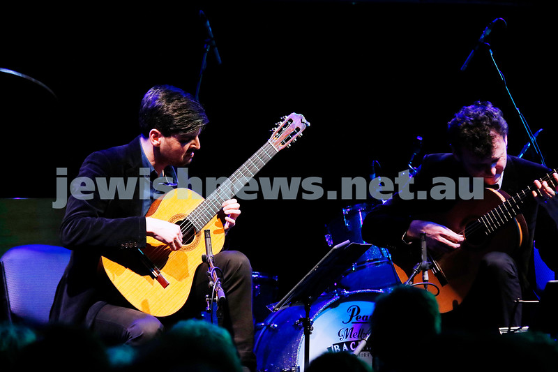 3-9-17. Shir Madness. Melbourne Jewish Music Festival.  Grigoryan Brothers. Photo: Peter Haskin