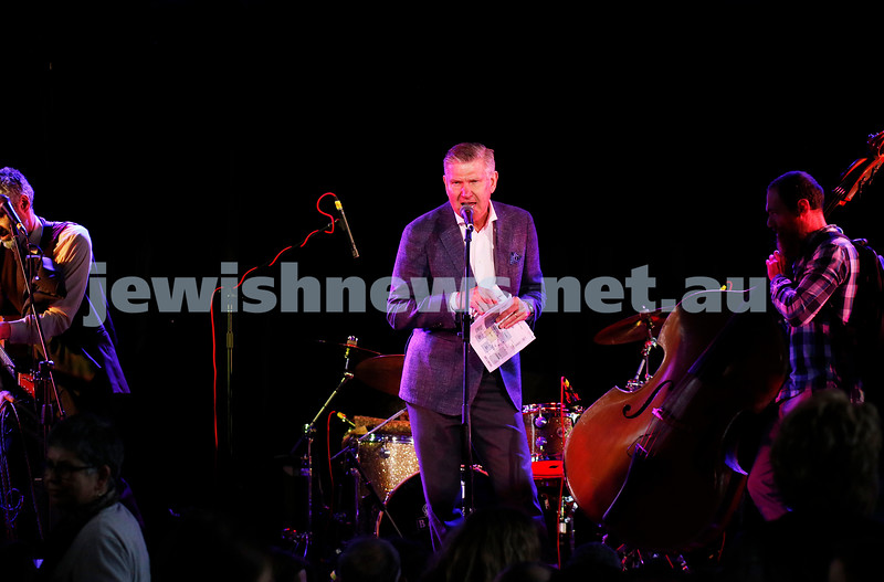 3-9-17. Shir Madness. Melbourne Jewish Music Festival.  Marshall Rushford. Photo: Peter Haskin