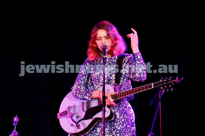 3-9-17. Shir Madness. Melbourne Jewish Music Festival.  Tin Pan Orange. Emily Lubitz. Photo: Peter Haskin