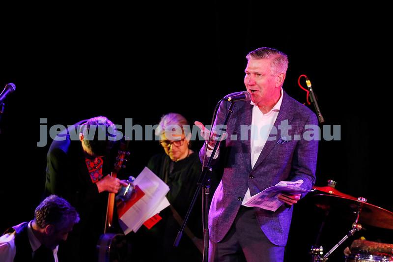 3-9-17. Shir Madness. Melbourne Jewish Music Festival.  Marshall Rushford. Photo: Peter Haskin