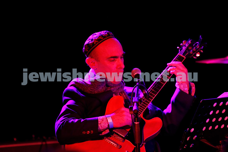 3-9-17. Shir Madness. Melbourne Jewish Music Festival. Adam Starr. Photo: Peter Haskin