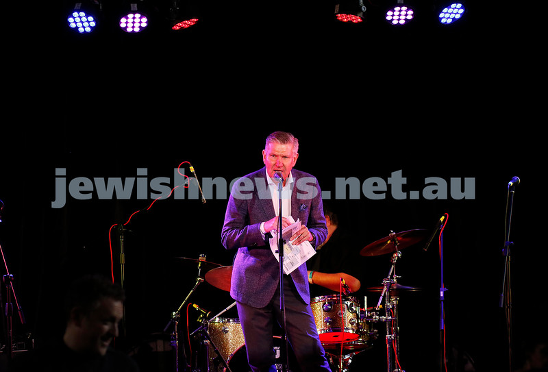 3-9-17. Shir Madness. Melbourne Jewish Music Festival. Photo: MC Marshall Rushford. Peter Haskin