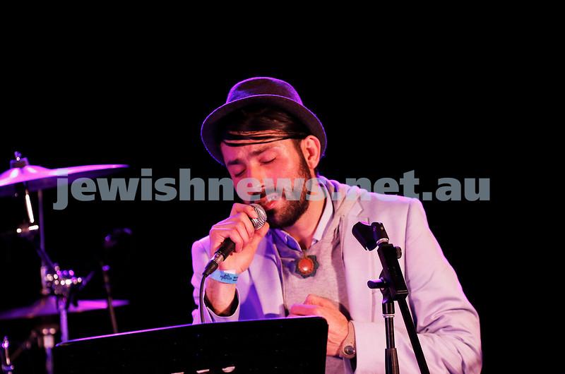 3-9-17. Shir Madness. Melbourne Jewish Music Festival.  Kobi Oved. Photo: Peter Haskin