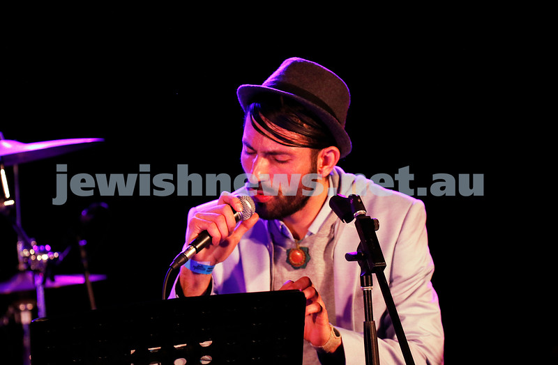 3-9-17. Shir Madness. Melbourne Jewish Music Festival.  Kobi Oved. Photo: Peter Haskin