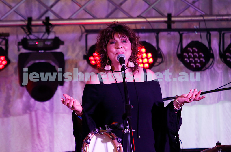 3-9-17. Shir Madness. Melbourne Jewish Music Festival.  Klezmania. Freydi Mrocki. Photo: Peter Haskin